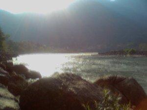 Ganga in Rishekesha